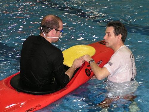 Teaching Kayak Roll