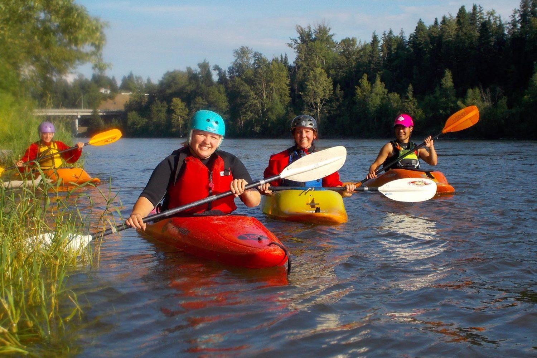 Kayaking the Nechako