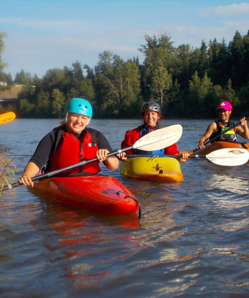 Kayaking the Nechako